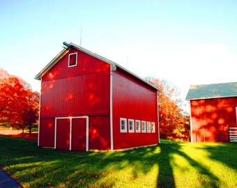Red Barn, 11x14 Archival Photograph