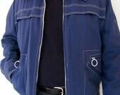 The Navy Blue Robert Lewis Canvas Jacket