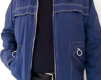 The Navy Blue Robert Lewis Canvas Jacket