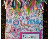 Decorated Notebook Live Laugh Love