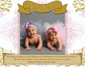 Princess Party Thank You Cards