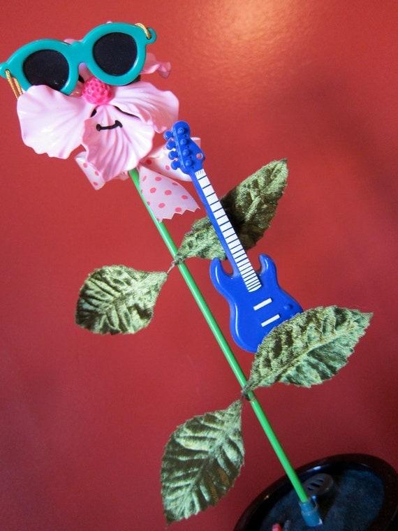 1980s Takara Rock N Flowers Dancing Flower Electronic Toy