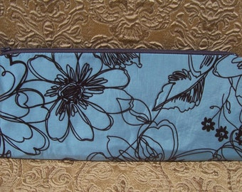 Wristlet Clutch Bag - Robin's Egg Blue