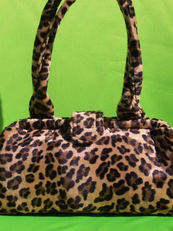 Doctor Bag - Leopard Print