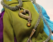 CLEARANCE ICED SMOKE a Viking Knit Necklace