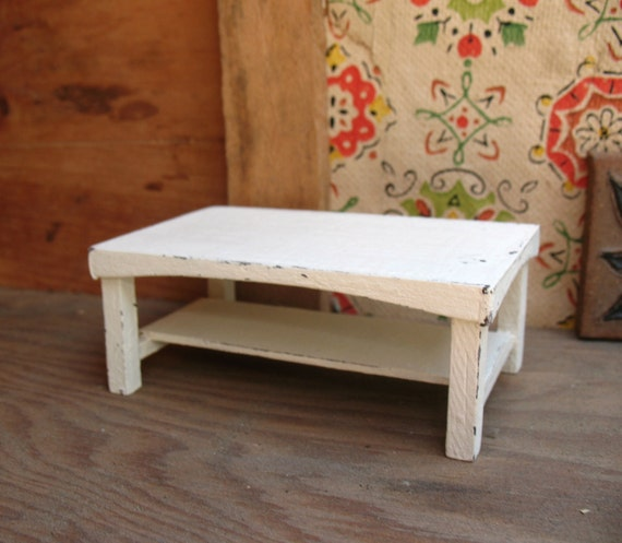 Shabby Chic Corner Coffee Table: Shabby Chic Coffee Table