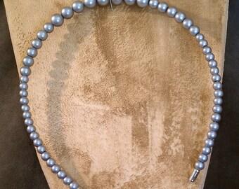 Beautiful Silver Pearl Bridal Headband