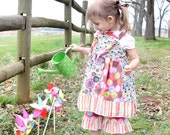 Sweet as Candy Colorful Stripwork Knotted dress Jumper