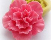 Large Sakura Flower Carnation Spring Flower Mold Silicone Large Flowers Mould