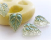 Tiny Tiny Leaves Leaf Mold Silicone Mold Resin Polymer Clay Fondant Moulds