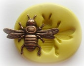 SIlicone Bug Mold Wasp Bee Moth Silicone Mold Fondant Candy Clay PMC Molds