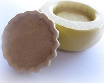 Miniature Pie Crust Mold Charm Resin Clay Kawaii Sweets Pie Dish