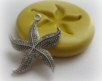 Starfish Earring Mold Jewelry DIY Small Clay Resin Silicone Mold