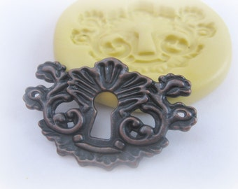 Clay PMC Fondant Key Mold Resin Silicone Mould