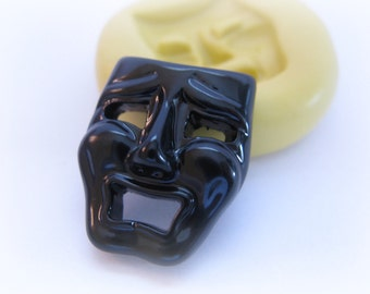 Mask Mold Clay Resin Fondant Silicone Mould
