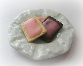 Breakfast Tart Mold Polymer Clay Resin Kawaii Faux Food Mold Moulds