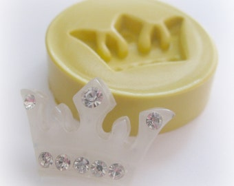 Crown Mold Kawaii Cute Polymer Clay Resin DIY Jewelry Finding Mould