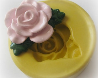 Rose Mold Silicone Open Flower Mould Resin Clay Fondant Polymer Clay Mould