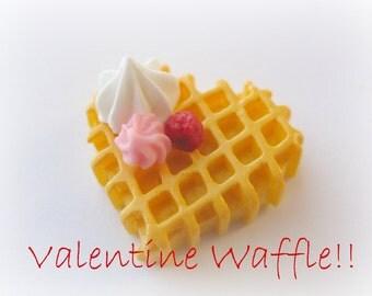 Kawaii Waffle Charm Mold Silicone Decoden Jewelry Molds