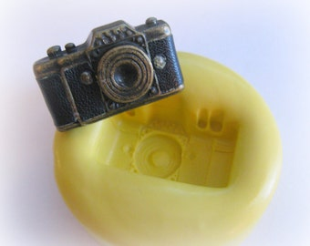 Camera Charm Mold Clay Resin Jewelry Silicone Mold