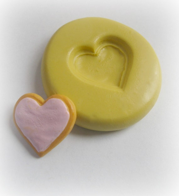Dollhouse Valentine Sugar Cookie Mold Miniature Fake Food Mould