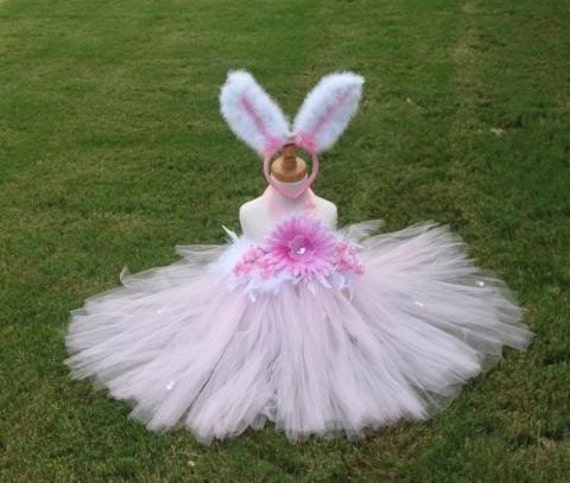 Pink bunny costume all sizes 6 9 12 18 24 months 2t 3t 4t 5t