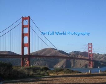 Golden Gate Bridge,  Original Photograph 11 x14