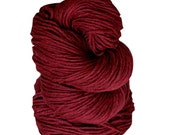 Shambala Cranberry Luxury Yak Yarn, Pure Tibetan Yak Down