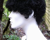 ON SALE - Short Mini Afro Super Tight Curled Black Hair Wig - WIG 12