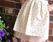 GIRLS KNOT DRESS AND RUFFLED PANTS OUTFIT  SIZE 4 to 6 Ready to Ship