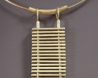 Sterling Silver Ladder Pendant