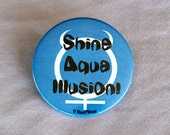 Sailor Moon 2-Inch Button Sailor Mercury (Shine Aqua Illusion)
