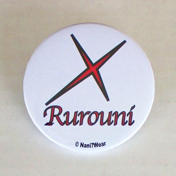 Rurouni Kenshin Anime 2-Inch Button