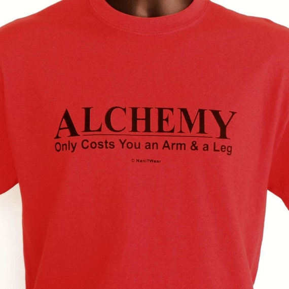Fullmetal Alchemist Anime T-Shirt Alchemy: Only Costs By