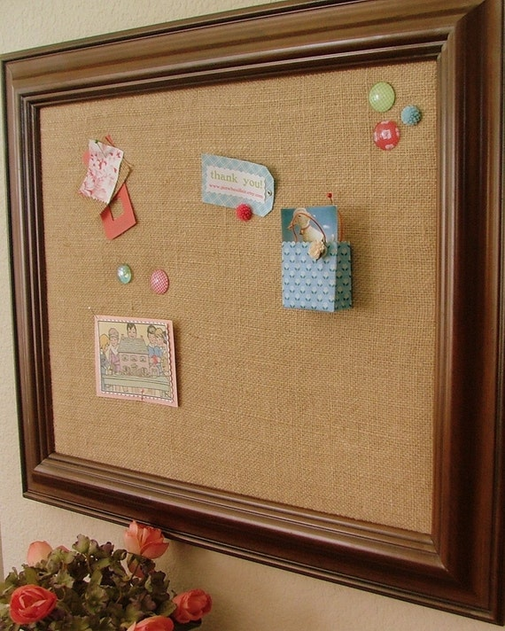 custom extra large 22x28 bulletin board pinboard your choice. Black Bedroom Furniture Sets. Home Design Ideas