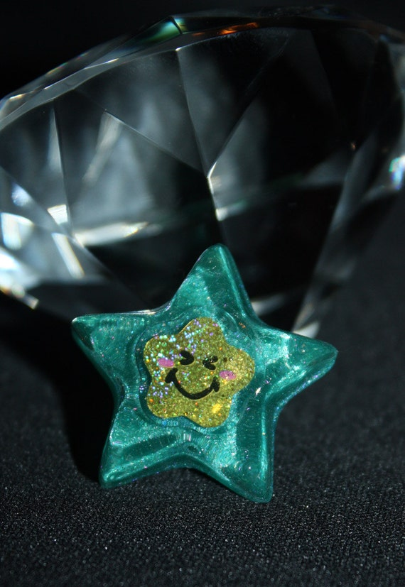 CLOSING SALE 50% off - Smiley Star Ring - Aull About You