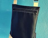 Shoulder bAg //1 black & lemon