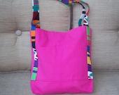 Canvas beachbag/tote
