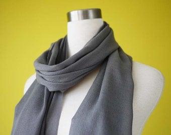 Bridesmaid shawls Wedding shawls scarf charcoal grey