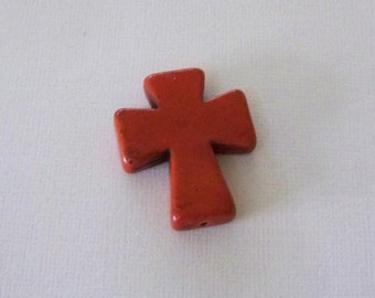 Medium Brown Stone Cross