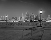 Kansas City Skyline - Fine Art Photograph 5x7 8x10 11x14 16x20 24x30
