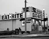 Eat-Rite Diner in St Louis on Route 66 - Fine Art Photograph 5x7 8x10 11x14 16x20 24x30