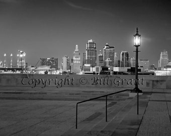 Kansas City Skyline - Fine Art Photograph