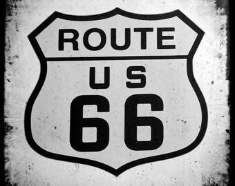 Route 66 - 8x8 Fine Art Photograph