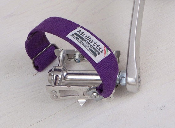 Biciband Viola - Bicycle Pedal Strap - fixed gear - FREE US SHIPPING