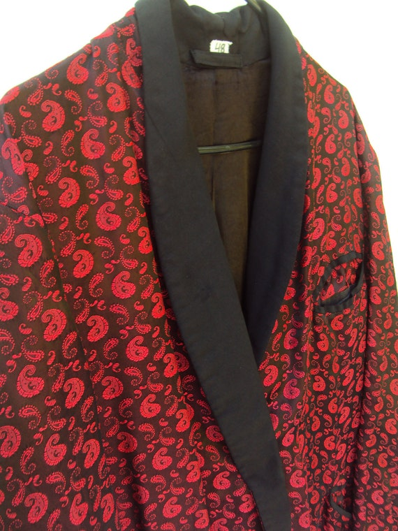 Smoking Jacket Robe
