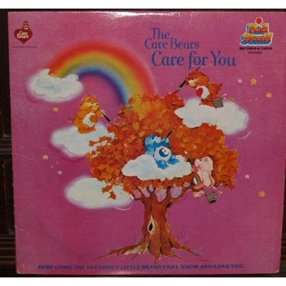 Care Bears Care for You Vinyl Record, 1980's memories