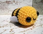 Bumble Bee Amigurumi Crochet Plush Toy