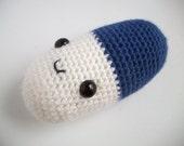 Jumbo Soft Happy Pill Amigurumi Plushie