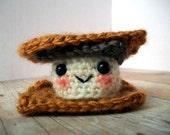 Crochet Mini Amigurumi Smore Plush